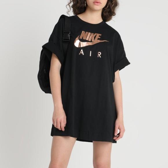 Sportswear Dress Black Rose Gold Logo